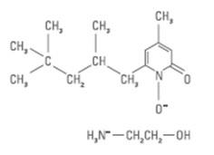 Структурная формула Октопирокс