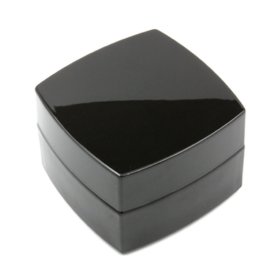 Баночка для крема 50 мл черное стекло